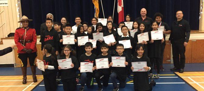D.A.R.E. Teacher Appreciation Certificate and Good Citizen Award